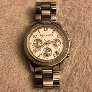 Non-Working Michael Kors Silver Watch